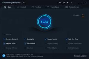 Advanced SystemCare Pro 2017