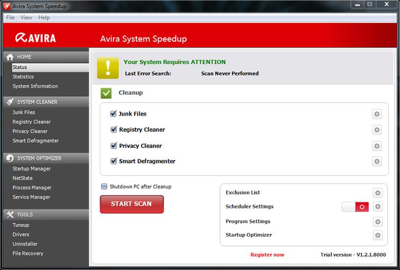 Avira System Speedup 2017