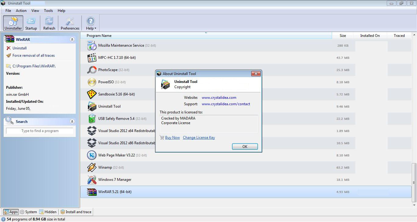 Uninstall Tool Windows