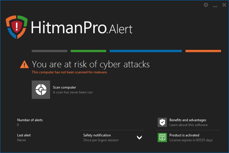 HitmanPro Alert