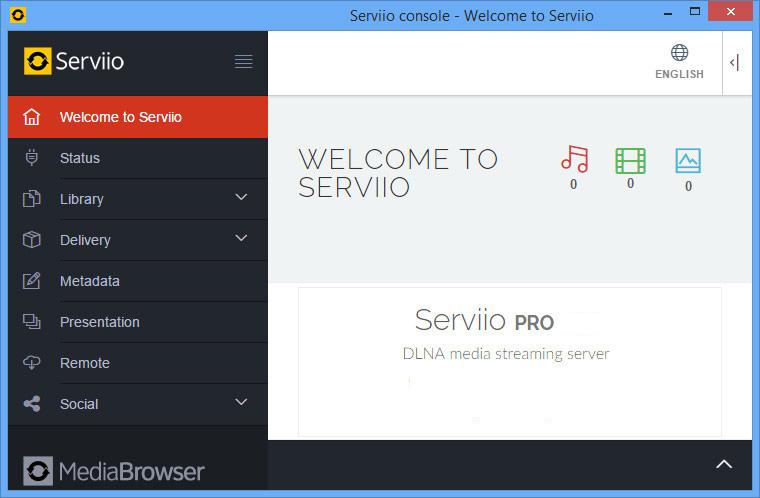 Serviio Pro Windows
