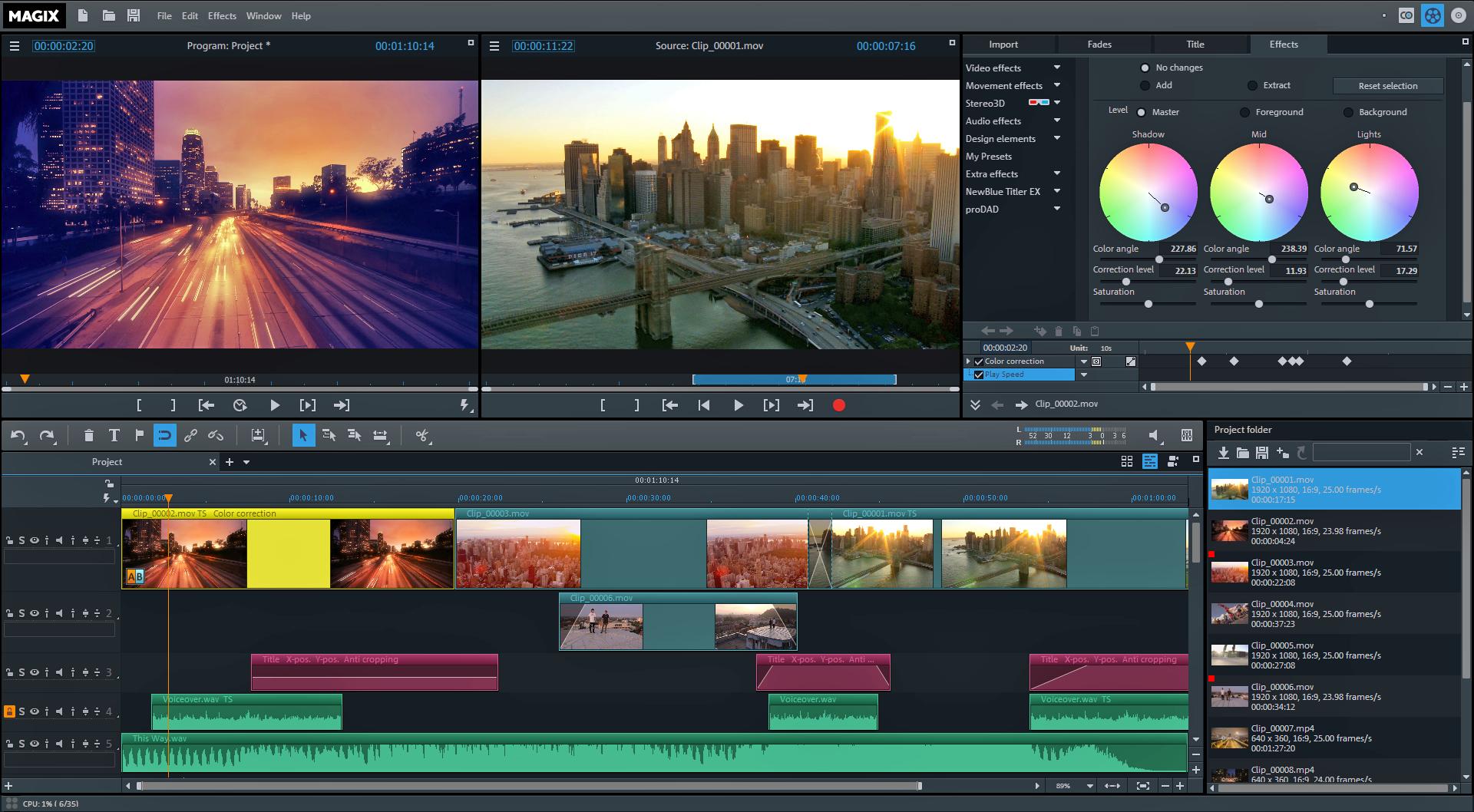 MAGIX Video Pro 2017