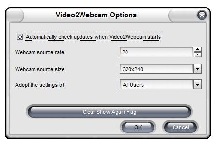 Video2Webcam 2017