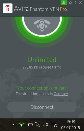 Avira Phantom VPN Pro 2017