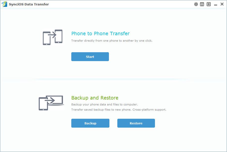 Anvsoft SynciOS Data Transfer