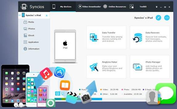Anvsoft SynciOS Professional