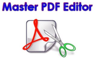Master PDF Editor windows