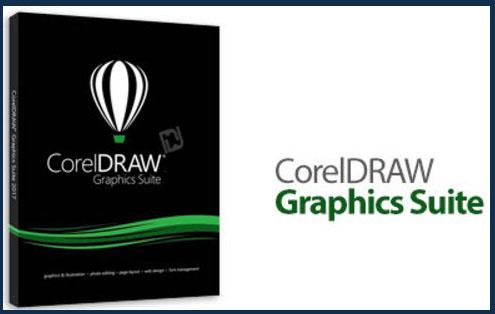 CorelDRAW Graphics Suite windows