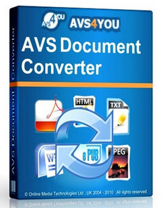 AVS Document Converter 4.2.4.269 Crack Download HERE !
