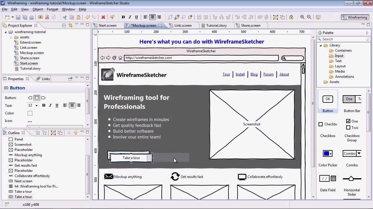 WireframeSketcher