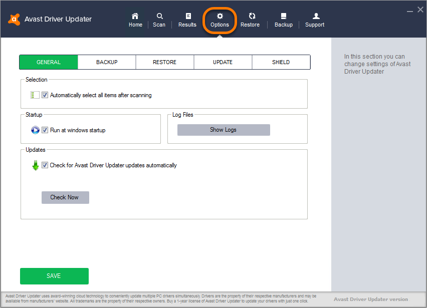 avast driver update serial