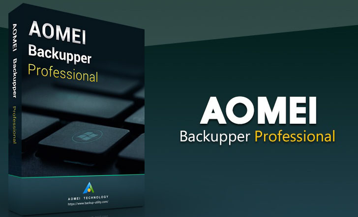 AOMEI Backupper Professional windows