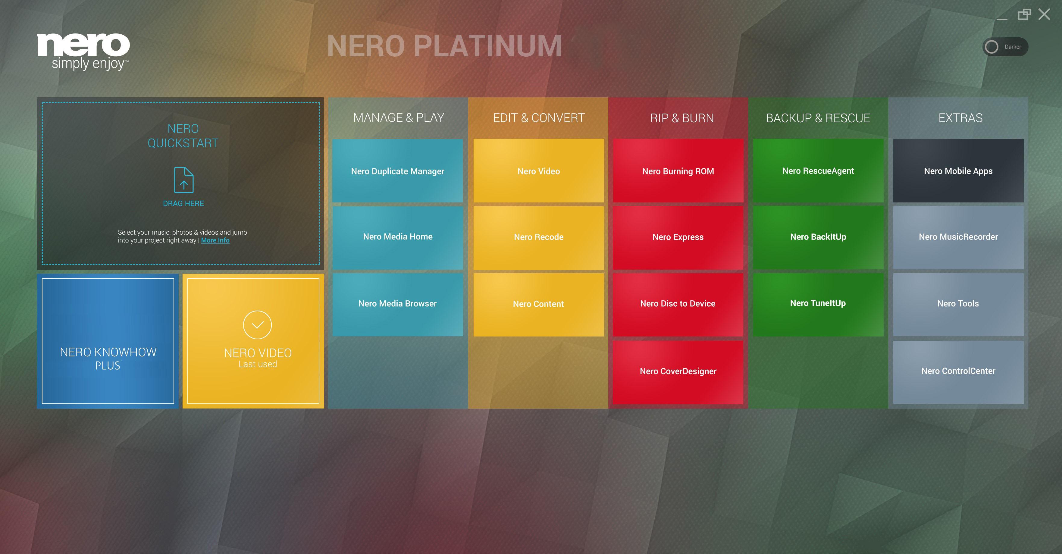 Nero Platinum 2019 Suite Windows