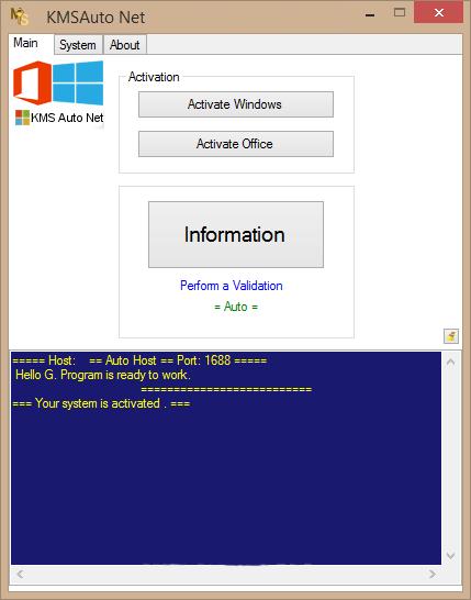 KMSAuto Net windows