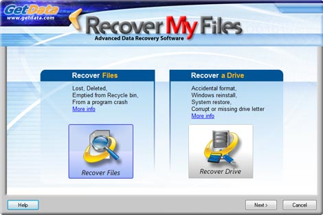 Recover My Files windows