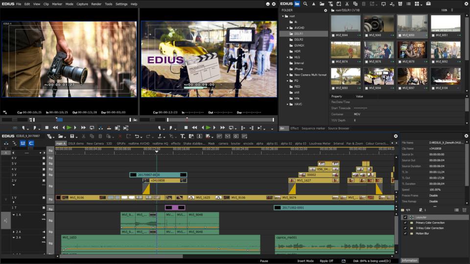EDIUS Pro Windows