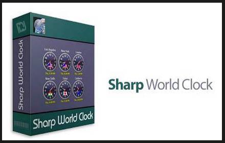 Sharp World Clock Windows
