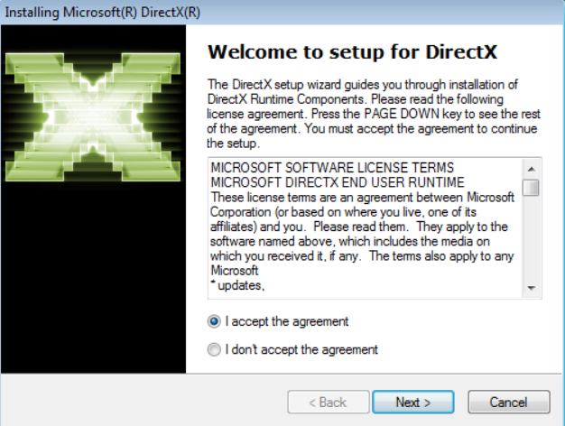 DirectX Windows