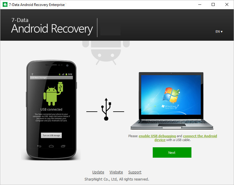 7-Data Android Recovery Windows