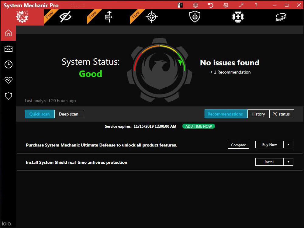 System Mechanic Windows