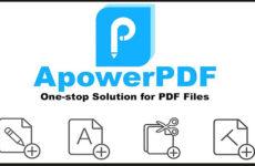 ApowerPDF 5.1.0.716 Crack Download HERE !