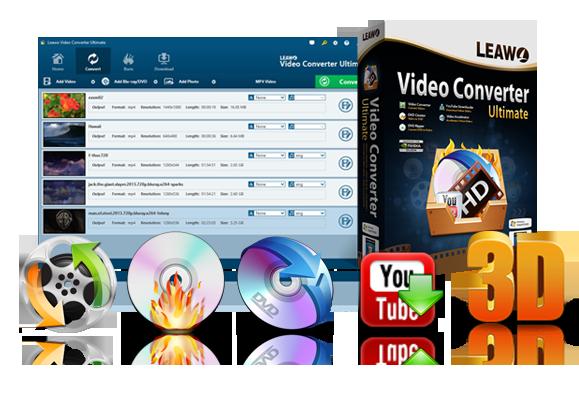 Leawo Video Converter Windows
