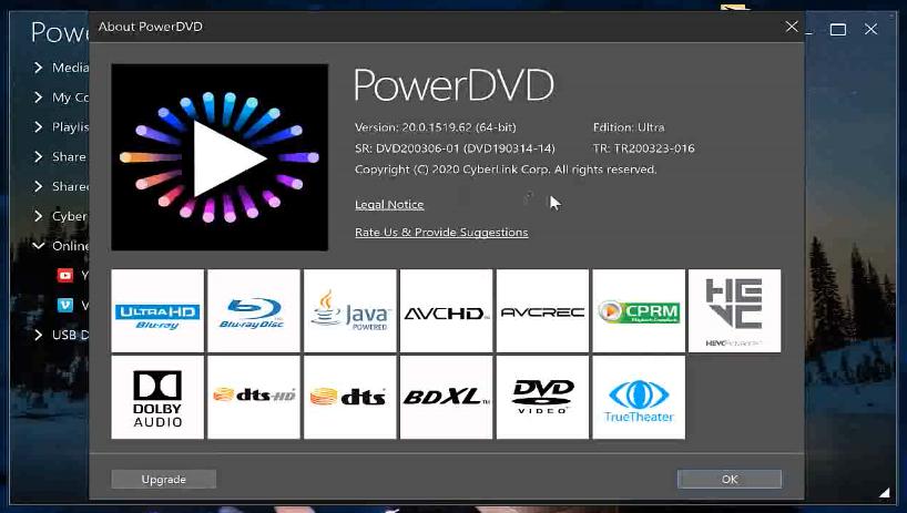 PowerDVD Windows