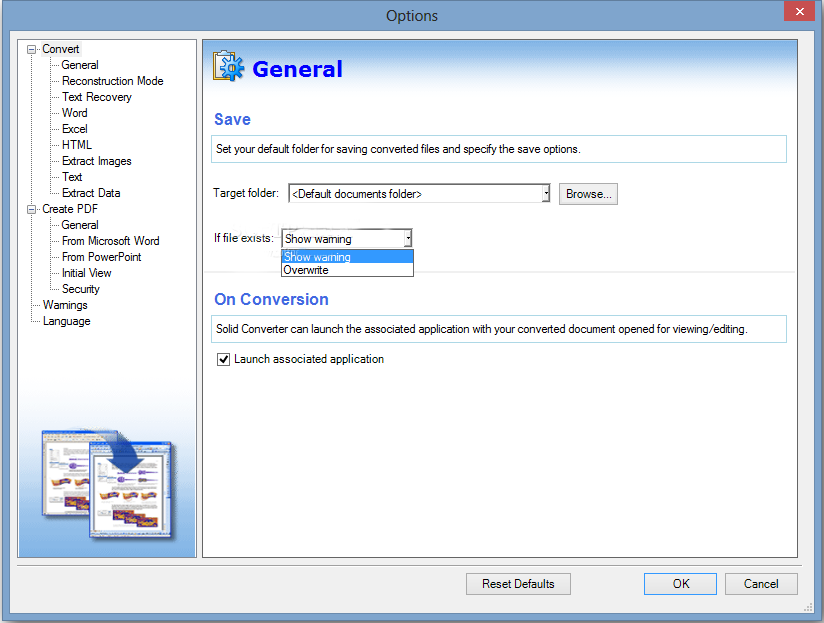 Solid PDF Converter Windows