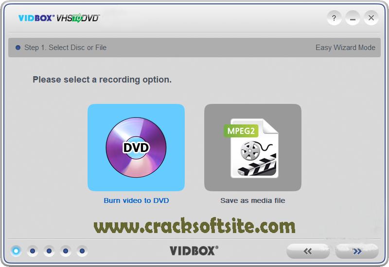 VIDBOX VHS to DVD Windows