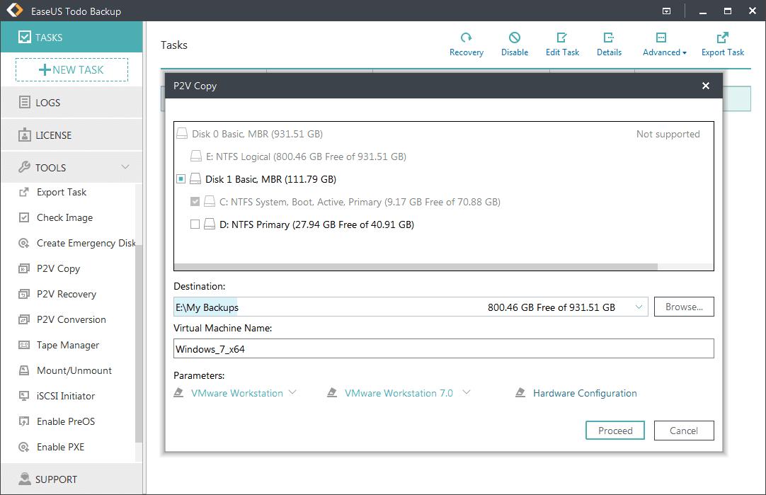 EaseUS Todo Backup Enterprise